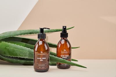 Mood Produkt Aloe Vera Gel und Spray