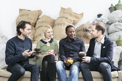 Team Kaffee Kooperative I Julia