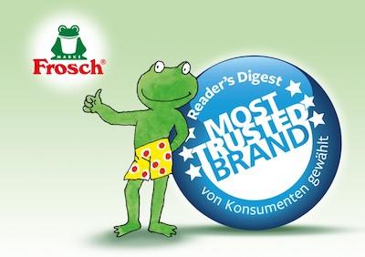 Vertrauen in die Marke Frosch ist so gross wie nie zuvor Web