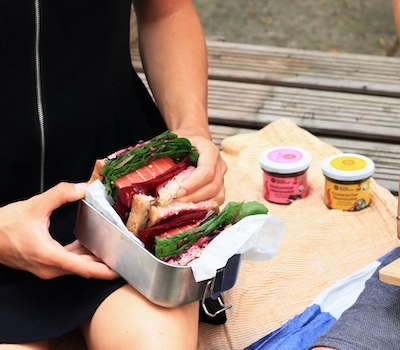 Oceanfruit Meeressalat vegan Sandwich 02
