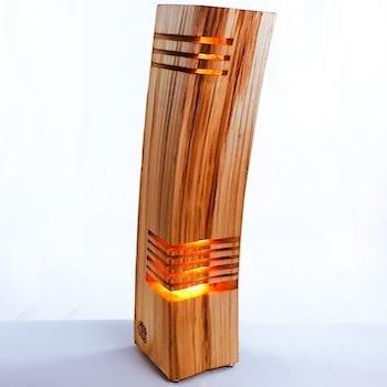 vollherz Akzentleuchte Holzscheit
