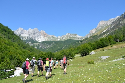 reisen mit sinn albanien wandern