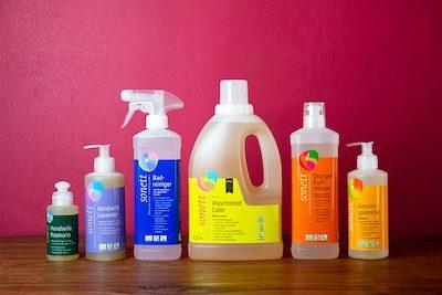 Sonett - ökologische Waschmittel Produktübersicht