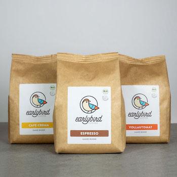 earlybirdcoffee Probierpaket 3x500g Kaffee 1