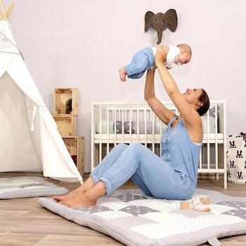 Krabbeldecke Einfach mehr Individualität fürs Babyzimmer