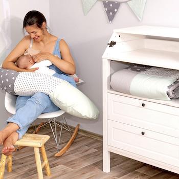 Stillkissen Einfach mehr Individualität fürs Babyzimmer